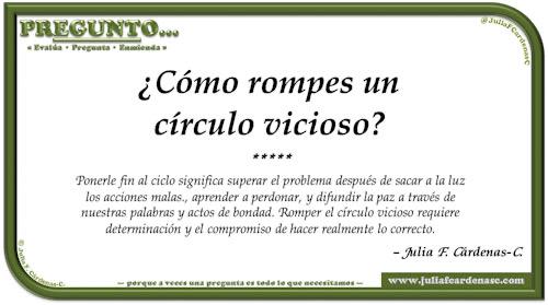 Pregunto… Tarjeta de pregunta y respuesta en Español como reflexiones acerca de recuperarse y seguir adelante en la vida. @JuliaFCardenasC